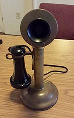 Candlestick phone modern photograph